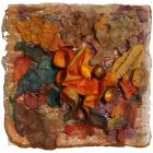 Orange Cup by Lesley Thomas