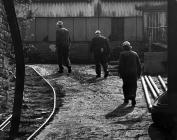 Workers at Navigation Colliery