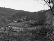 Rhiwgreiddyn quarry, Ceinws/ Esgairgeiliog.