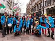 Wonderbrass join the National St David's Day...