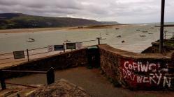 Cofiwch Dryweryn Mural Barmouth