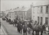 Pembrokeshire Police Funeral 1925