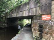 Murlun Cofiwch Dryweryn, Pont 39W, Llangollen.