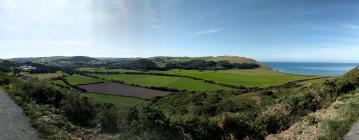 View from pendinas