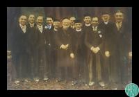 Photograph of members and clergy of Cardiff...
