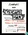 Poster for a treasure hunt held by the Cardiff...