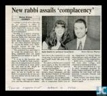 Newspaper article detailing Rabbi Levy's...