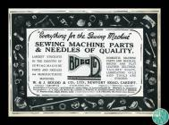 Advertisement for the W. & J. Bogod sewing...