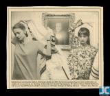 Newspaper clipping of Rabbi Elaina Rothman and...