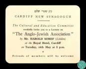 Invitation for members of the Cardiff New...