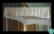 Photograph of a Chuppah made by Trude Owen for...