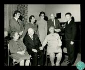 Photograph of the visit of singer Robert Earl...