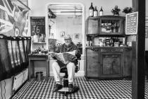 """The Headmaster"", Barber Malcolm Beddoes,..."