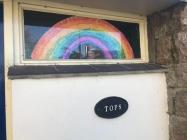 Rainbows in Windows by Fiona, March 2020