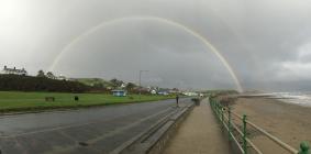 Rainbows from Windows by Rhian taken in Criccieth