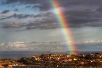 Rainbows from Windows by Rob taken in Barry