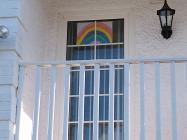 Rainbows in Windows, April 2020