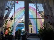 Rainbows in Windows, April 2020