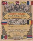 Band of Hope Certificate 1917