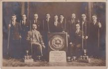 Pembroke Dock Institute Billiards Team 1928/29