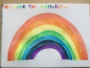 Rainbows in Windows by Karen, April 2020