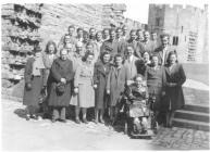 Aberystwyth University History students on day...