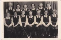 Pembroke Dock County School Hockey team 1940
