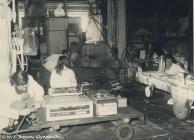 Factory Workers at Rheola Works, Glynneath, 1981