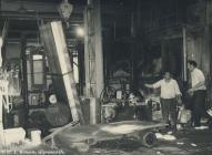 Workers at Rheola Works, Glynneath, 1981