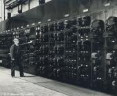 Rheola Works factory worker, Glynneath, 1981