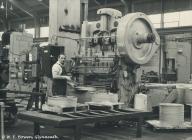 Factory worker, Rheola Works, Glynneath, 1981