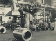 Aluminium rolls, Rheola Works, Glyn-neath, 1981