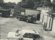 Rheola Works Yard, Glynneath, 1981