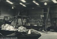 Crane, clearing Rheola Works, Glynneath, 1981