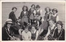 Pembroke Dock County School Rounders Team 1939/40