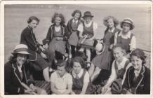 Pembroke Dock County School Rounders Team 1939/40