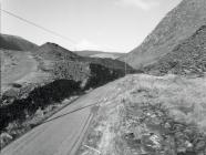 Road from Aberllefenni to the quarry