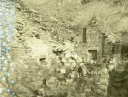 Abandoned farmhouse, Aberllefenni quarry