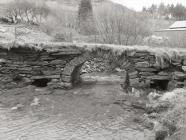 Old stone bridge, Aberllefenni
