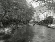 Afon Dulas, Ceinws / Esgairgeiliog, May 2004