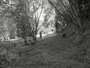 Footpath by Park Dulas Cottages, Ceinws /...