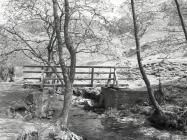 Footbridge over Aber Glesyrch, Panteg, Ceinws...