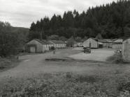Ceinws/Esgairgeiliog, the forestry comision camp