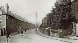 Duffryn Terrace at New Tredegar c1911