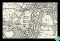 Extract from Ordnance Survey map Glamorgan...