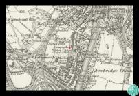 Detholiad o fap Ordnans Morgannwg taflen XVIII,...