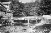 Aberangell Mill Bridge about 1903