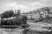 Walton Terrace, Aberangell, early 1920s