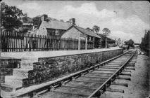 Aberangell Station, Early 1930s
