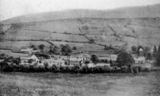 Mallwyd Village 1920s
